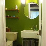 Gorgeous Green Digs: Half Bathroom