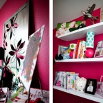 Sleek &amp; Happy: Girls&#039; Room Details