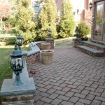 A Traditional Tudor: Patio