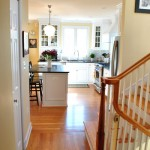 Crisp &amp; Classic: Hallway / Kitchen