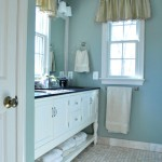 Crisp &amp; Classic: Master Bathroom