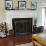 Green Acres: Fireplace