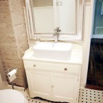 Inspired & Inexpensive: Half Bathroom