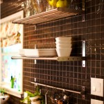 Sleek &amp; Happy: Kitchen Backsplash