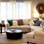 Sleek &amp; Happy: Living Room Sectional