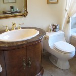 A Traditional Tudor: Guest Bathroom
