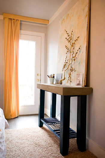 Haute amp Homemade Master Bedroom Console  Haute amp Homemade Master Bedroom  Console YHL Galleries. Bedroom Console
