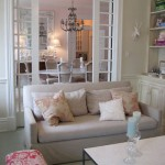 A Dreamy & Decadent Delight: Living / Dining Room