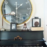 Style For Miles: Living Room Clock