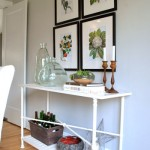 Elegant &amp; Fresh: Dining Room Sideboard