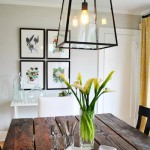 Elegant & Fresh: Dining Table