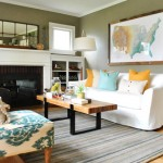 Elegant & Fresh: Living Room Alternate View