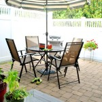Downsized &amp; Upgraded: Patio