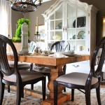 Homearama: Rustic Dining Room