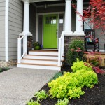 Homearama: Green Front Door