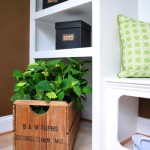 Homearama: Mudroom Baskets Detail