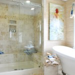 Homearama: Textural Bathroom