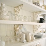 Breezy & Bright: Kitchen Shelf Detail