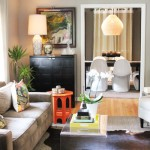 Swanky &amp; Warm: Living Room
